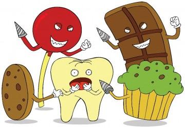 مواد غذایی و نوشیدنیهای مضر برای دندانها