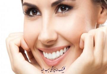 کامپوزیت دندان برای کسانی که بیماری لثه دارند